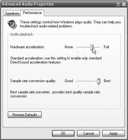 how to turn off hardware accerlation