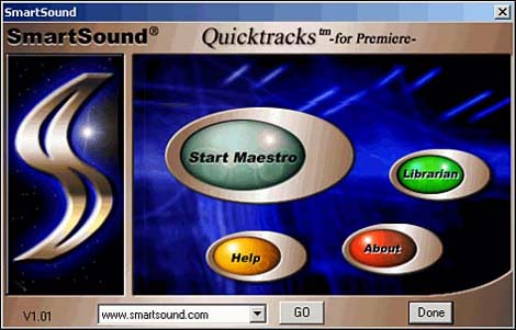smartsound quicktrack plugin