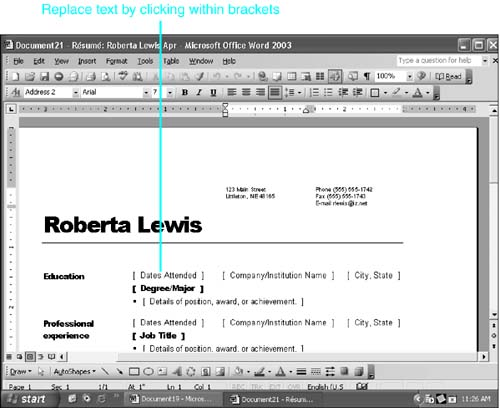 Using Word Wizards Chapter 11 Templates And