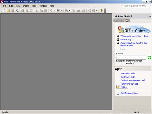 ms office access 2003 free  software