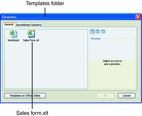 Office 2007 Excel Templates