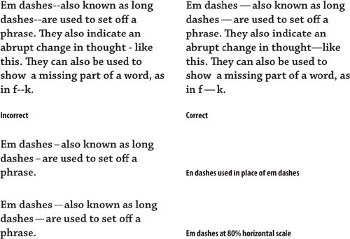 Dashes Chapter 6 Sweating The Small Stuff Special Characters