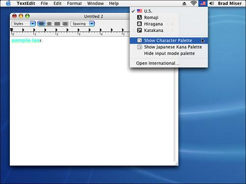 Understanding and Using Standard Mac OS X Application Menus