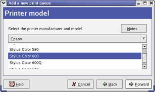 Configuring CUPS Print Queues :: Chapter 4: Printer Setup